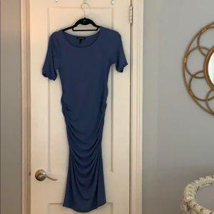 Isabella Oliver ruched T-shirt maternity dress